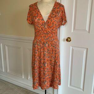 Vintage Sandwich Blouson Dress